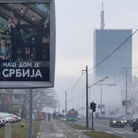 #zagadjenje - Beograd, Foto: Milorad Vesić